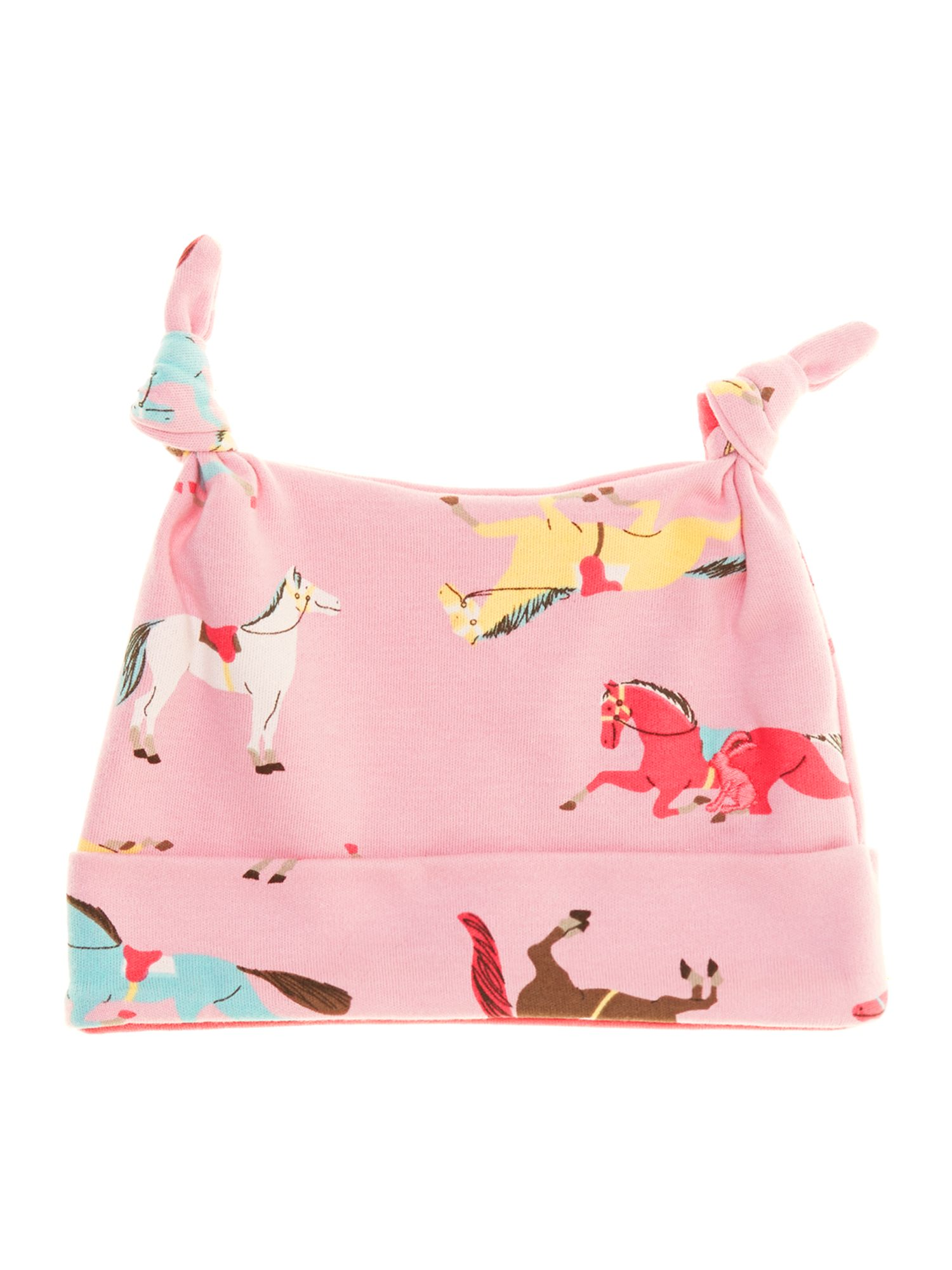 Girl`s all over print pony hat