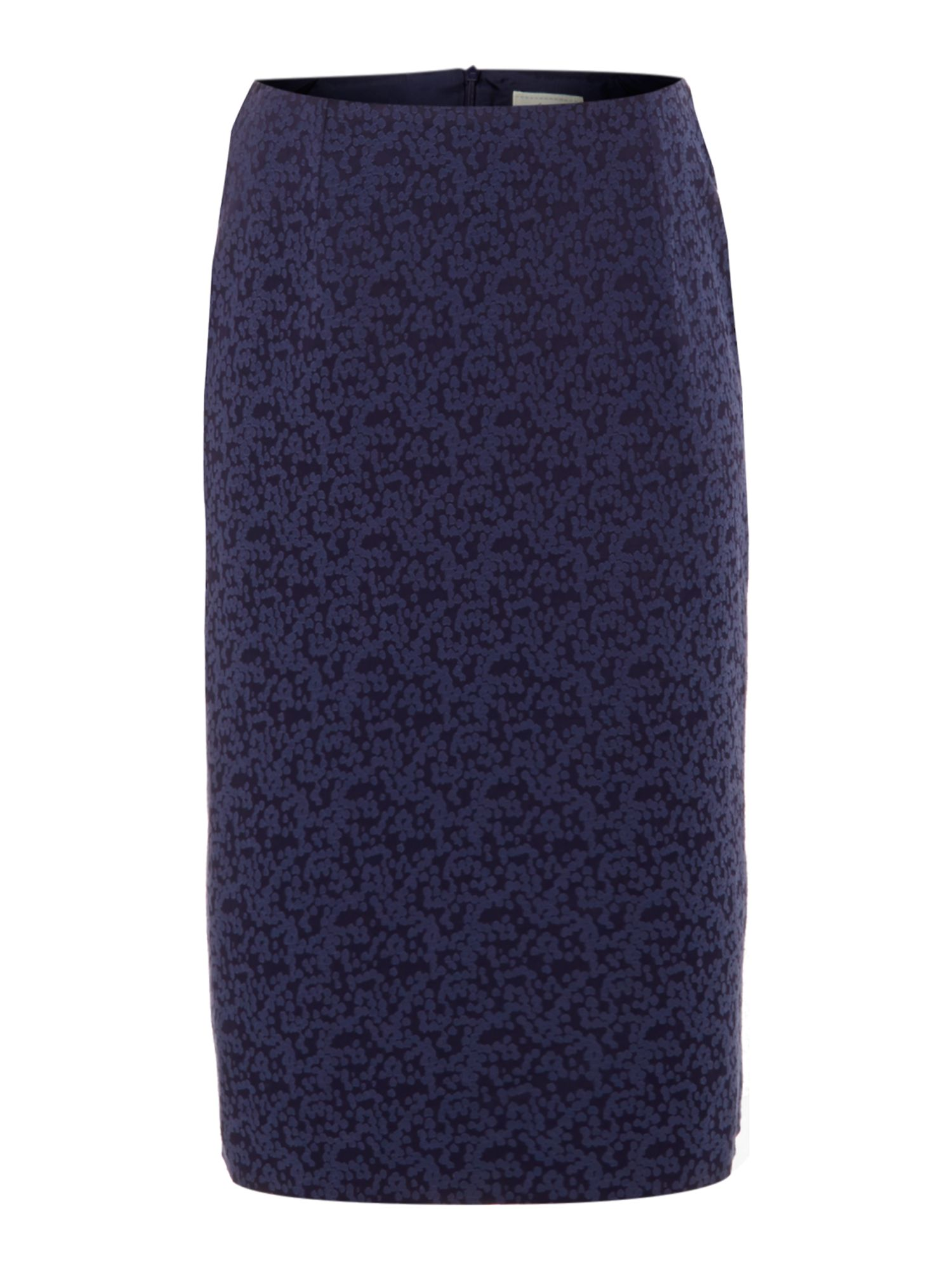 Connie spot jacquard skirt