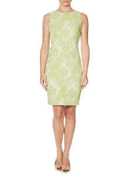 Linea Grace lace jacquard shift dress