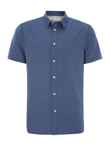cruz geometric printed short sleeved shirt