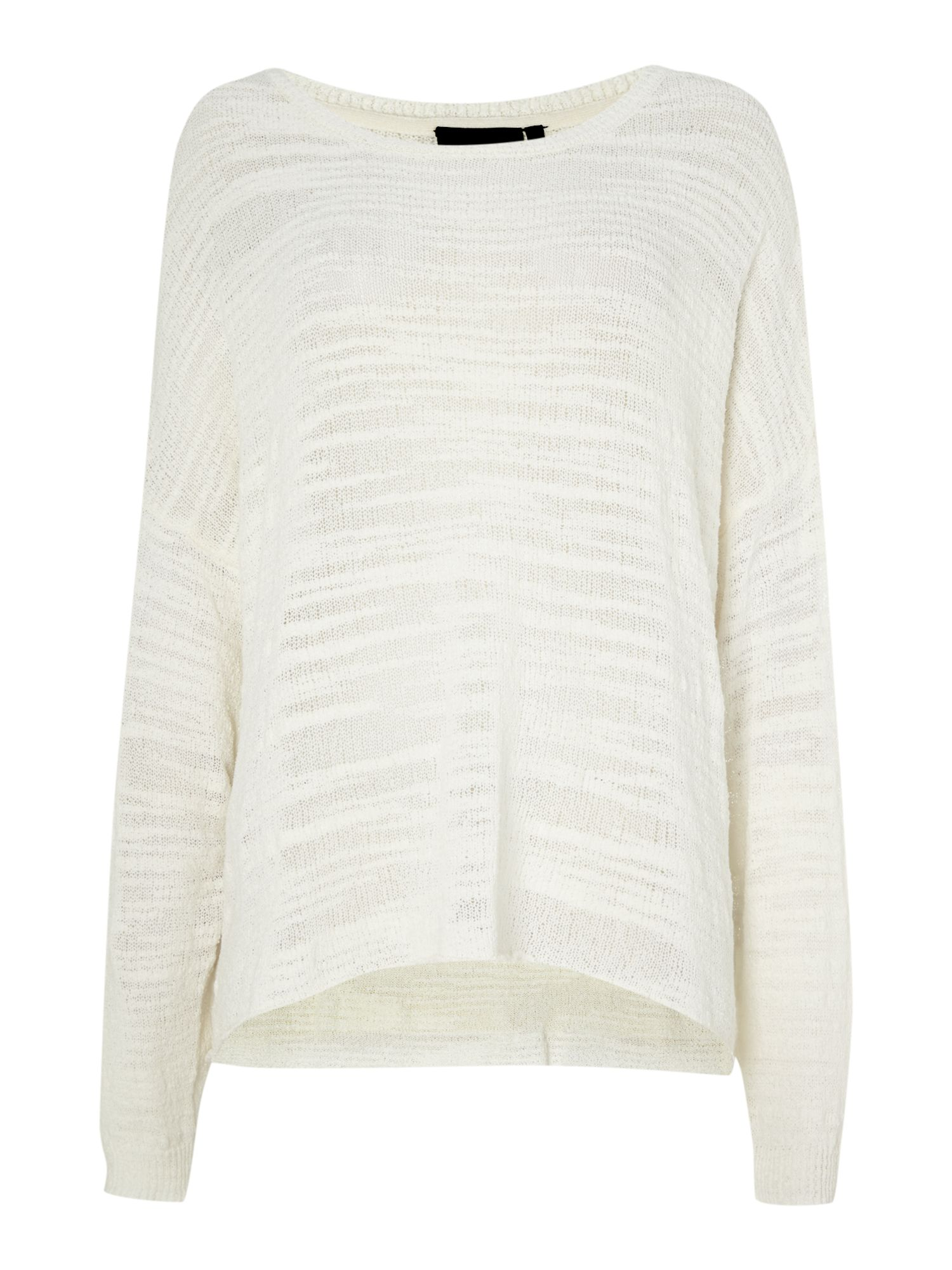 Lightweight textured knit