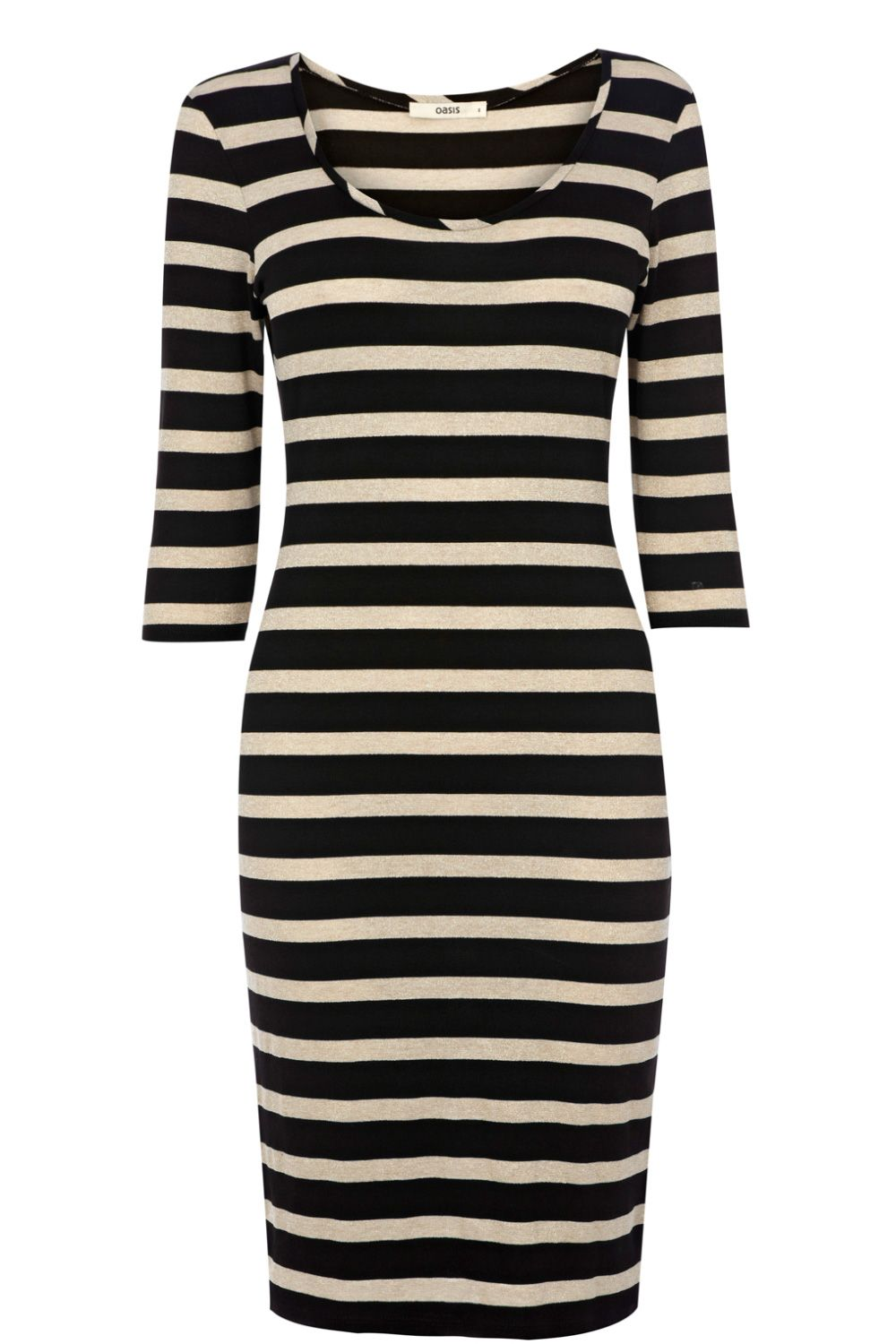 Sparkle stripe lucie dress
