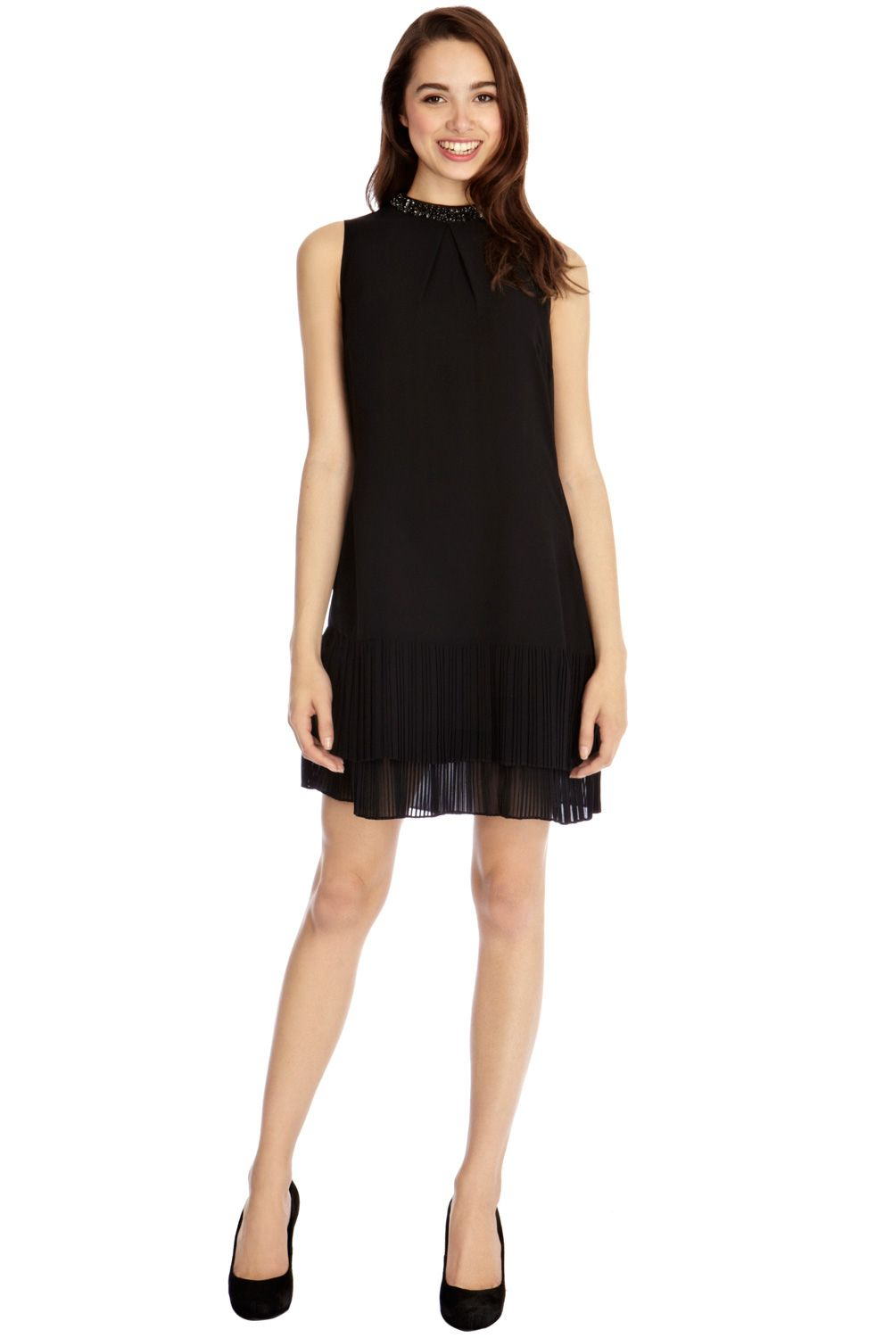 Tilly embellished shift dress