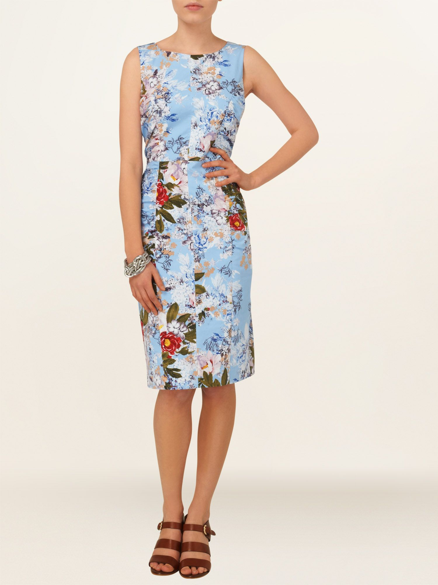 Mara floral printed shift dress