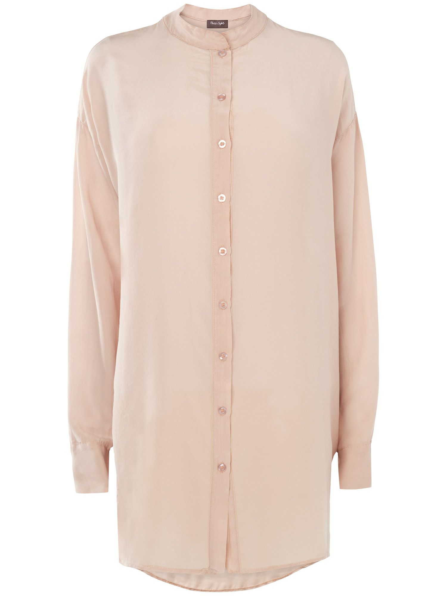 Frances oversized silk shirt