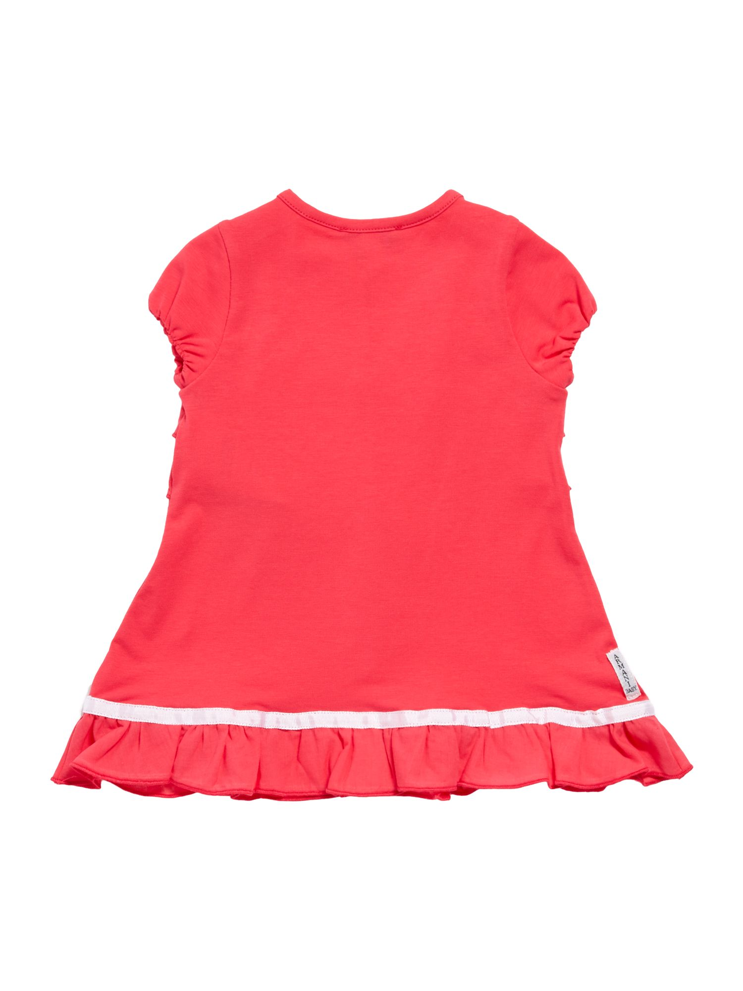 Girl`s frill front dress