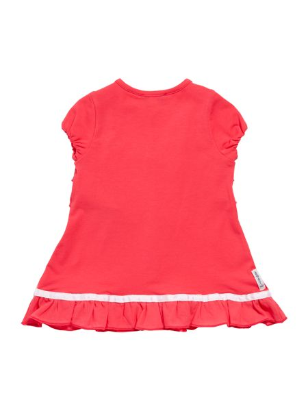 Armani Junior Girl`s frill front dress