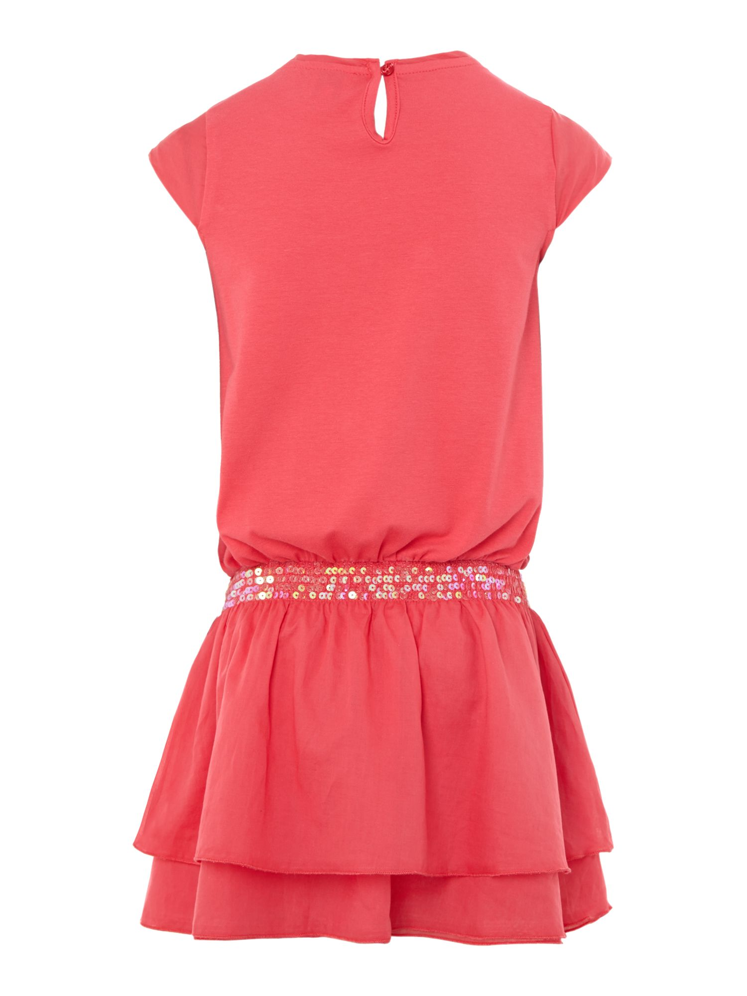 Girl`s sequin band dress