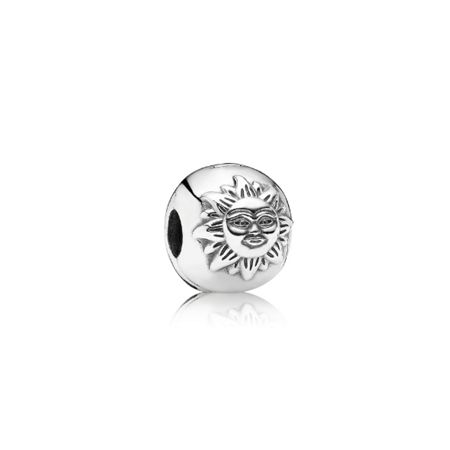 Pandora Cubic zirconia magic sky silver clip