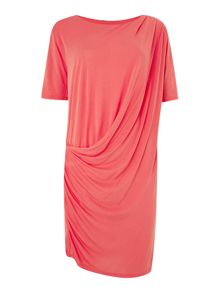 Bruuns Bazaar Drape jersey dress