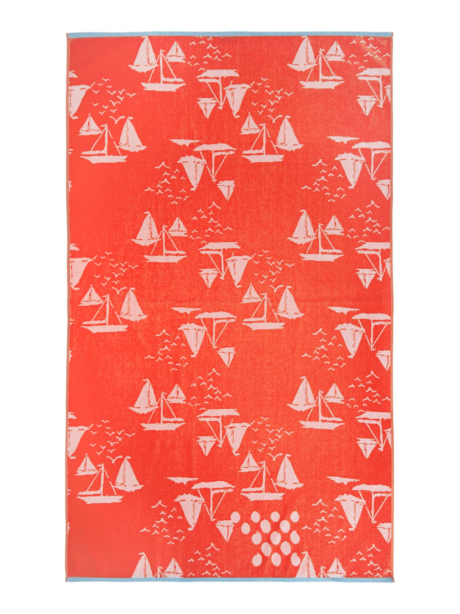 Yachting beach towel
