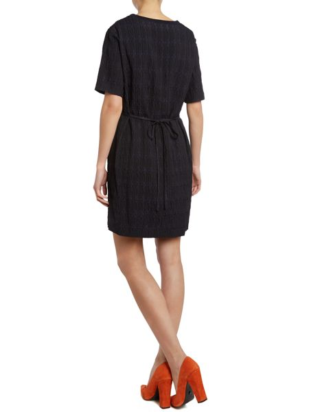 Bruuns Bazaar Short sleeve gathered waist dress