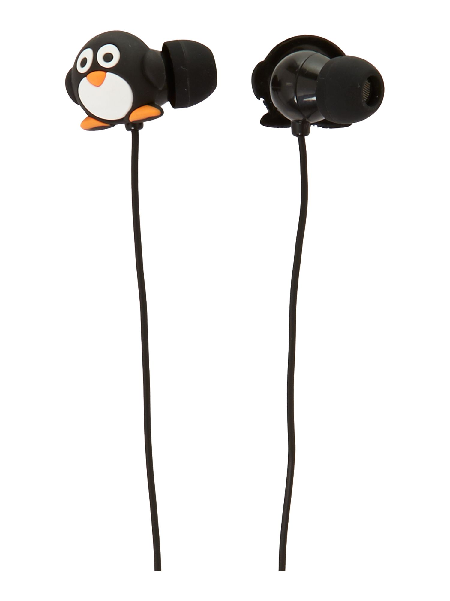 Penguin earbuds with in line mic