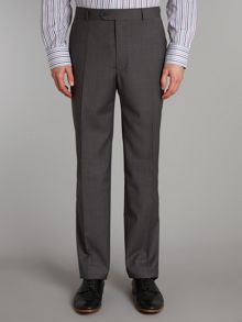 Grey pick and pick trousers