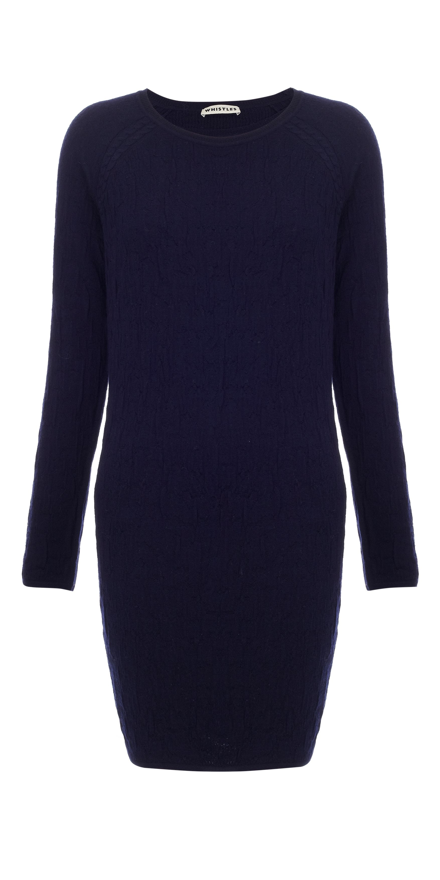 Penelope jacquard knit dress