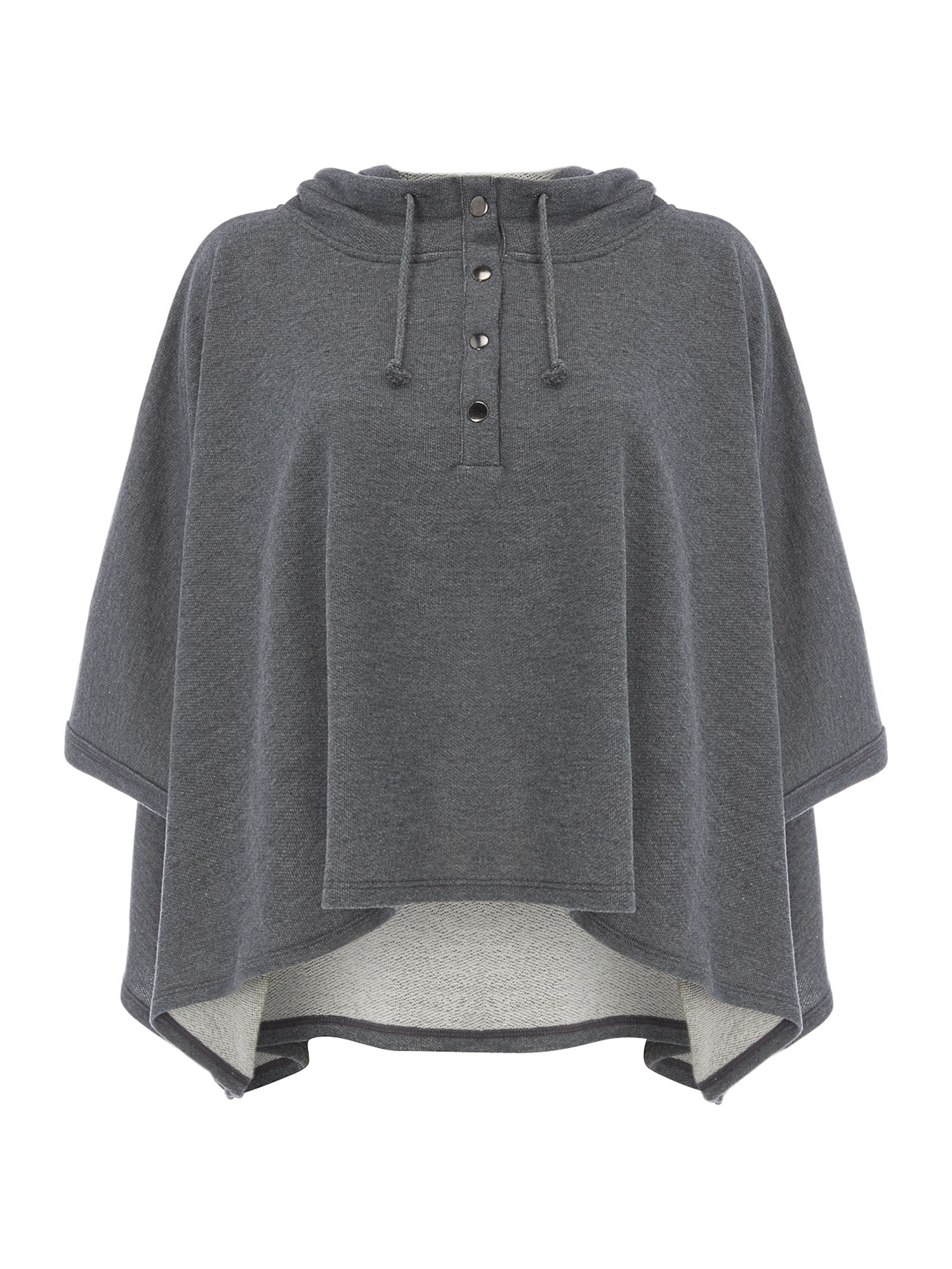Cape hooded sweat