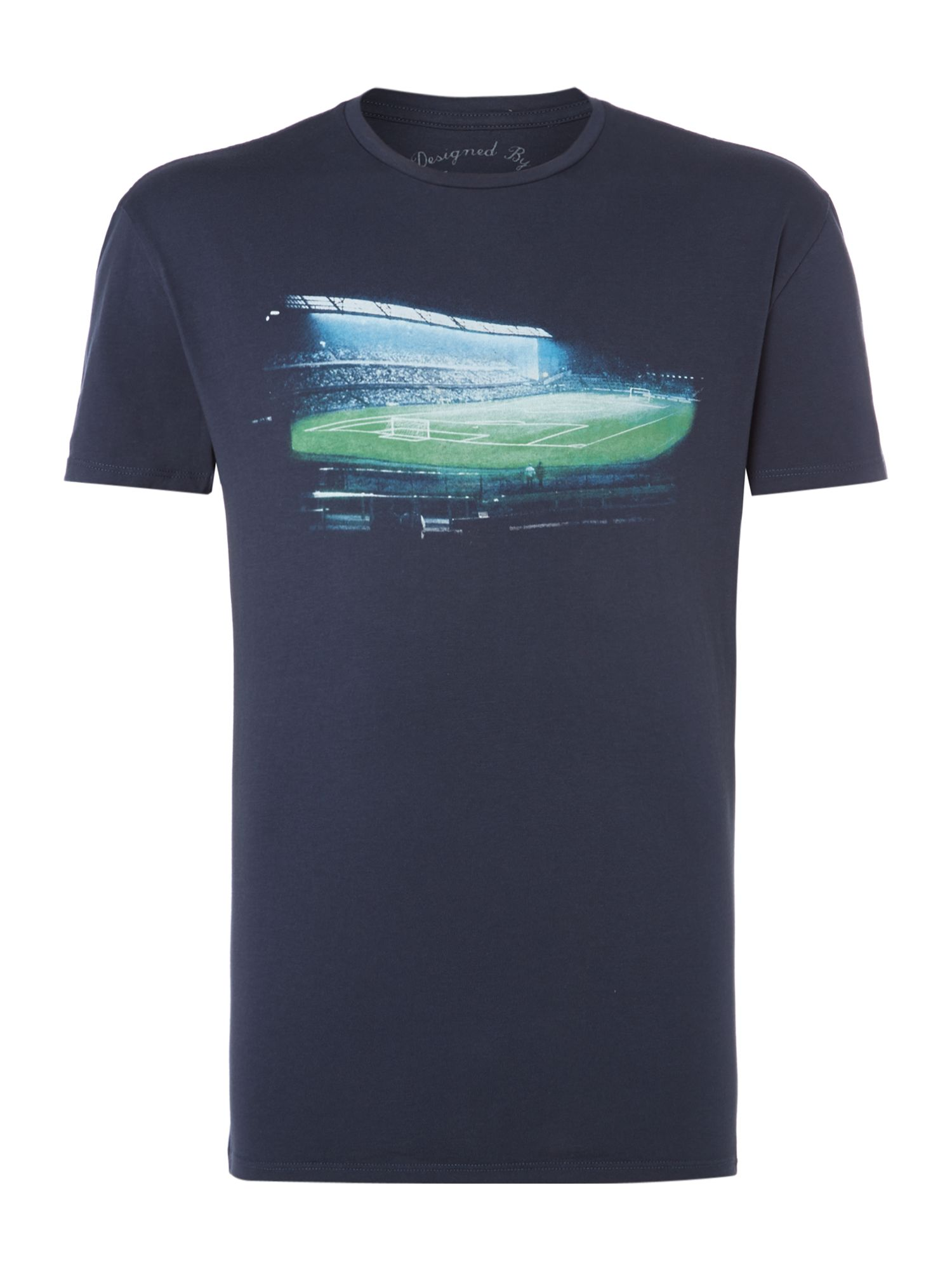 football stadium graphic tee