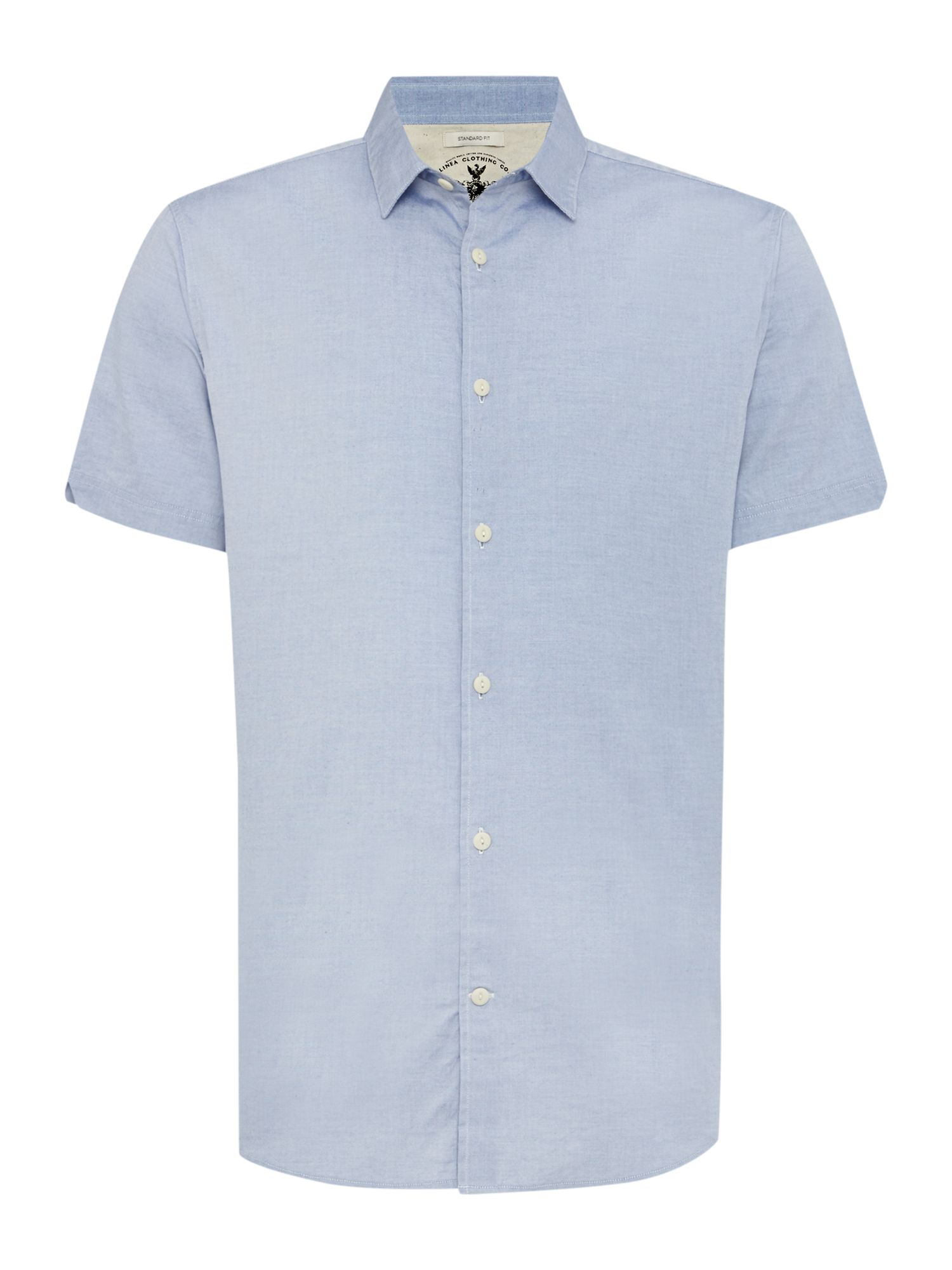 eade short sleeve chambray shirt