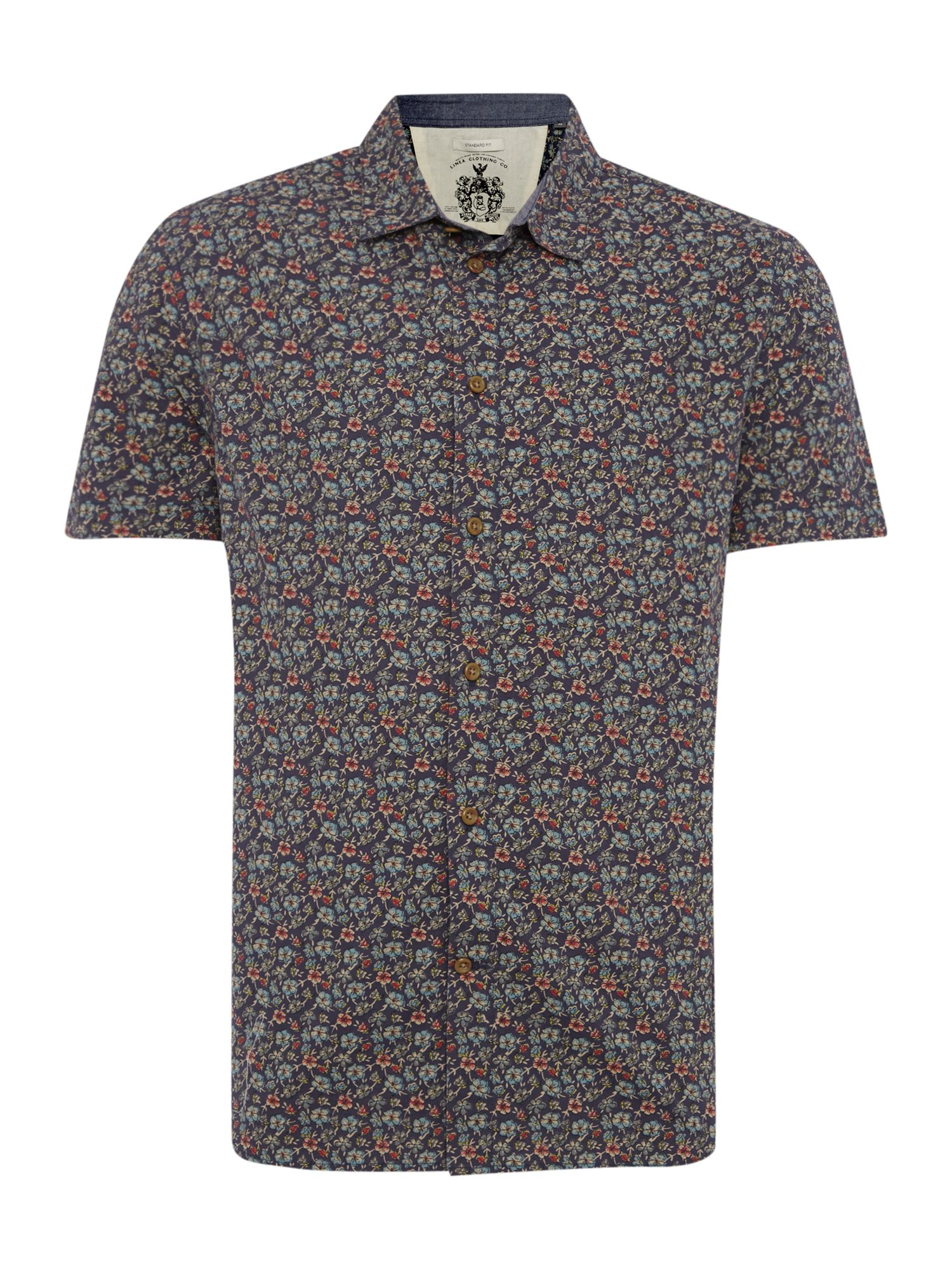 poole floral short sleeved shirt
