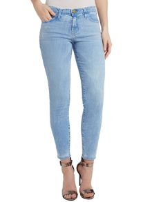 Current Elliott The Stiletto skinny jeans in Mariner
