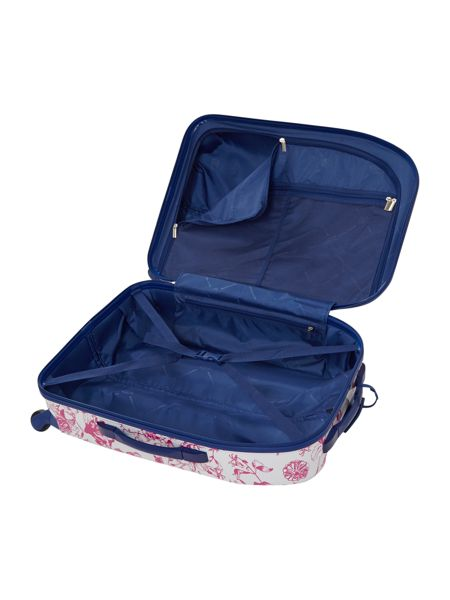Dickins & Jones Spring butterfly floral 4 wheel hard medium case