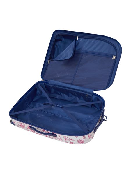 Dickins & Jones Spring butterfly floral 4 wheel hard large case