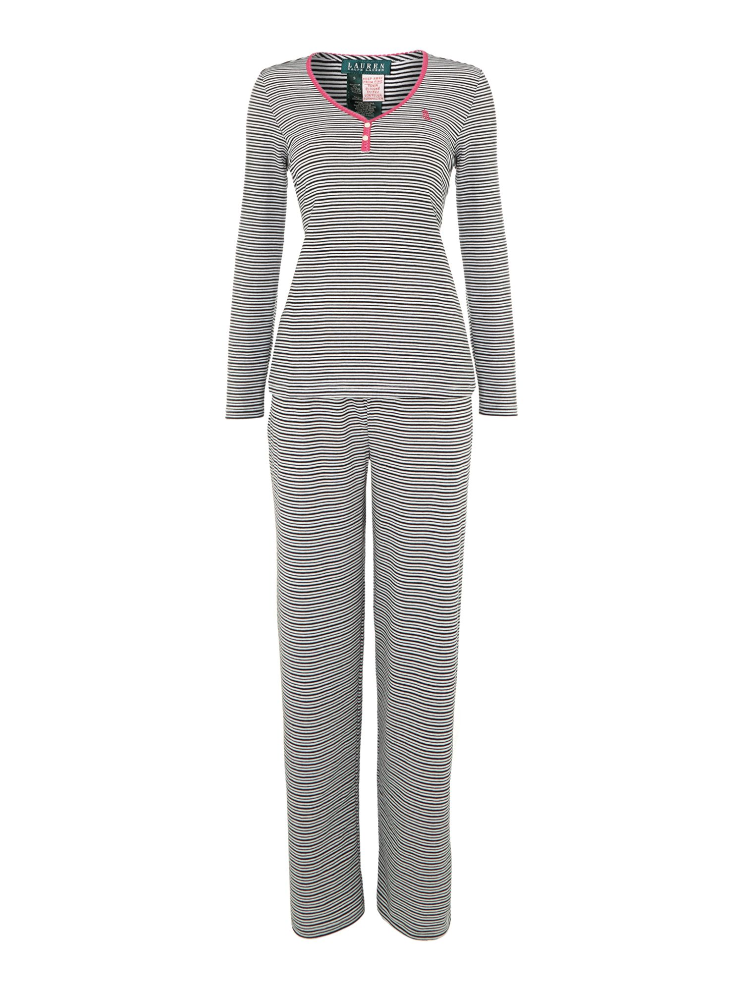 Verona stripe pj set