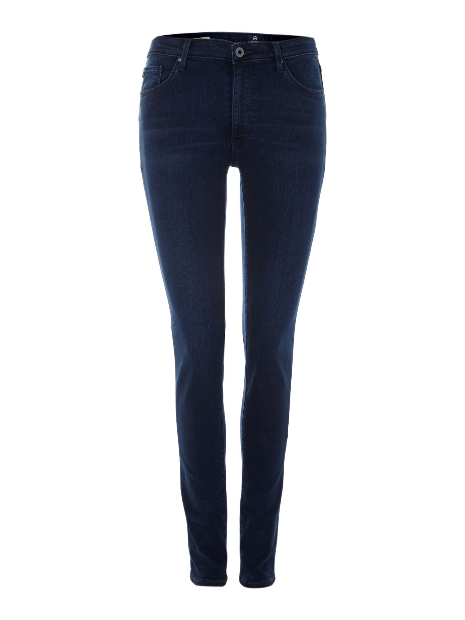 The Middi mid-rise legging jeans in Figaro