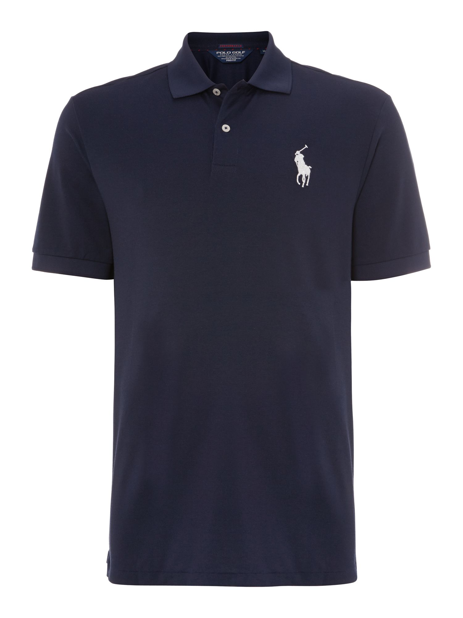 Moisture wicking pro fit polo shirt