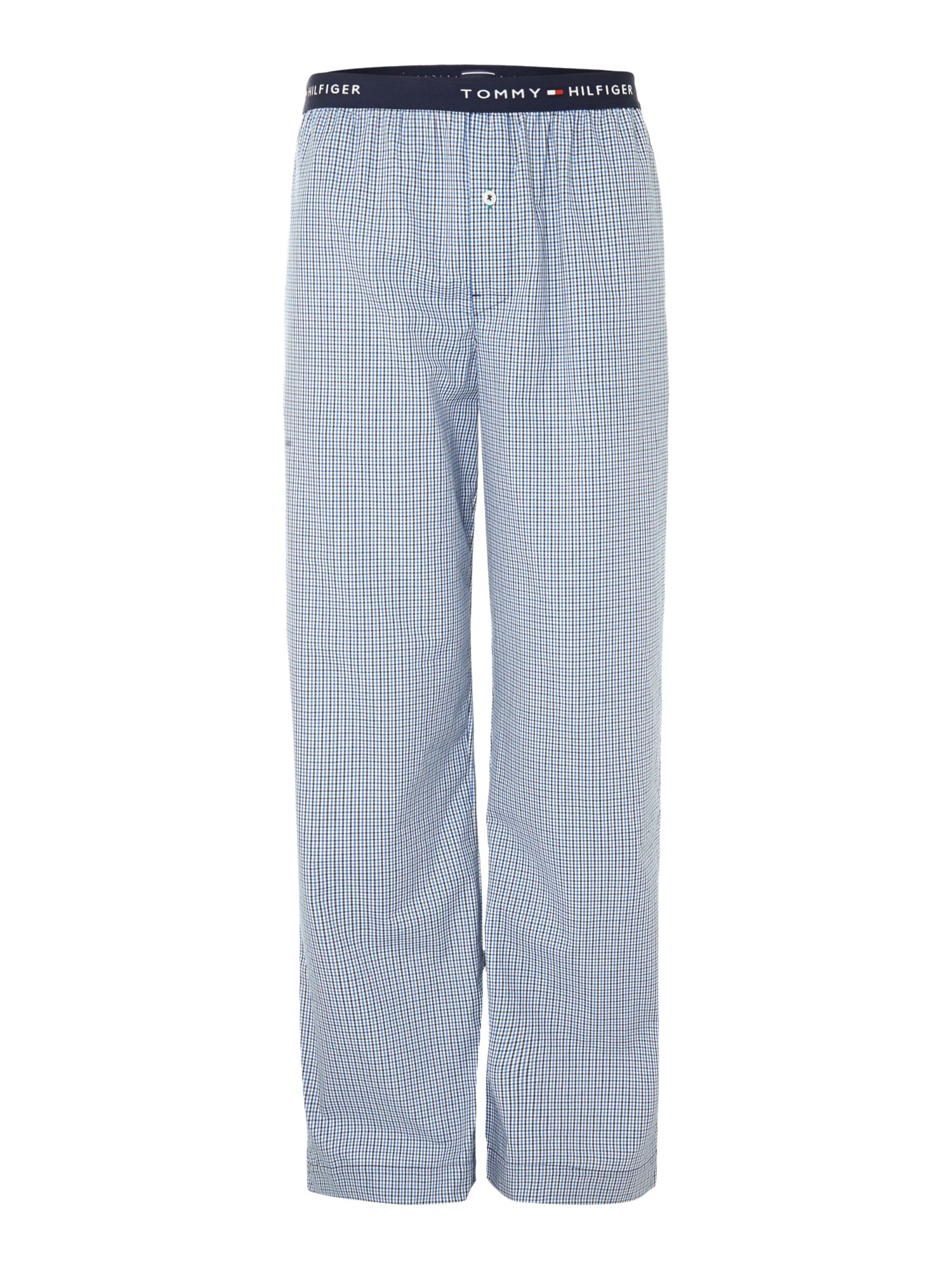 Small check woven nightwear pant