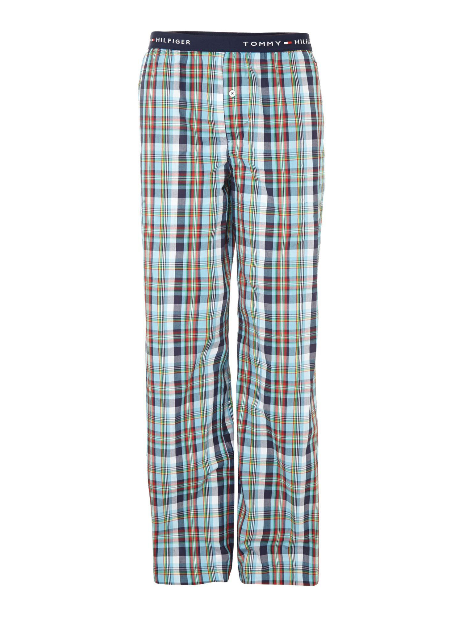Multi check woven nightwear pant