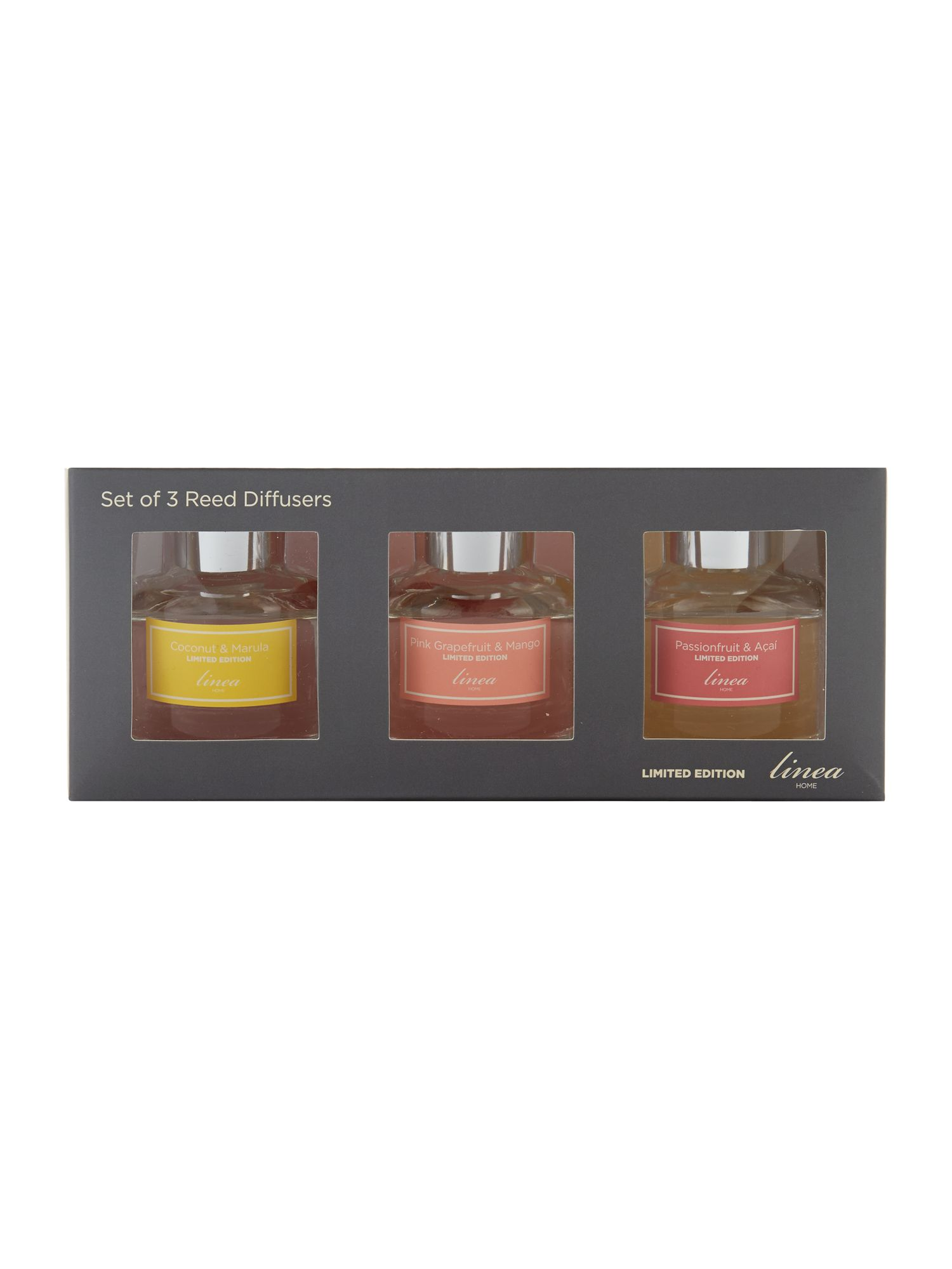 Limited edition set of 3 mini diffusers