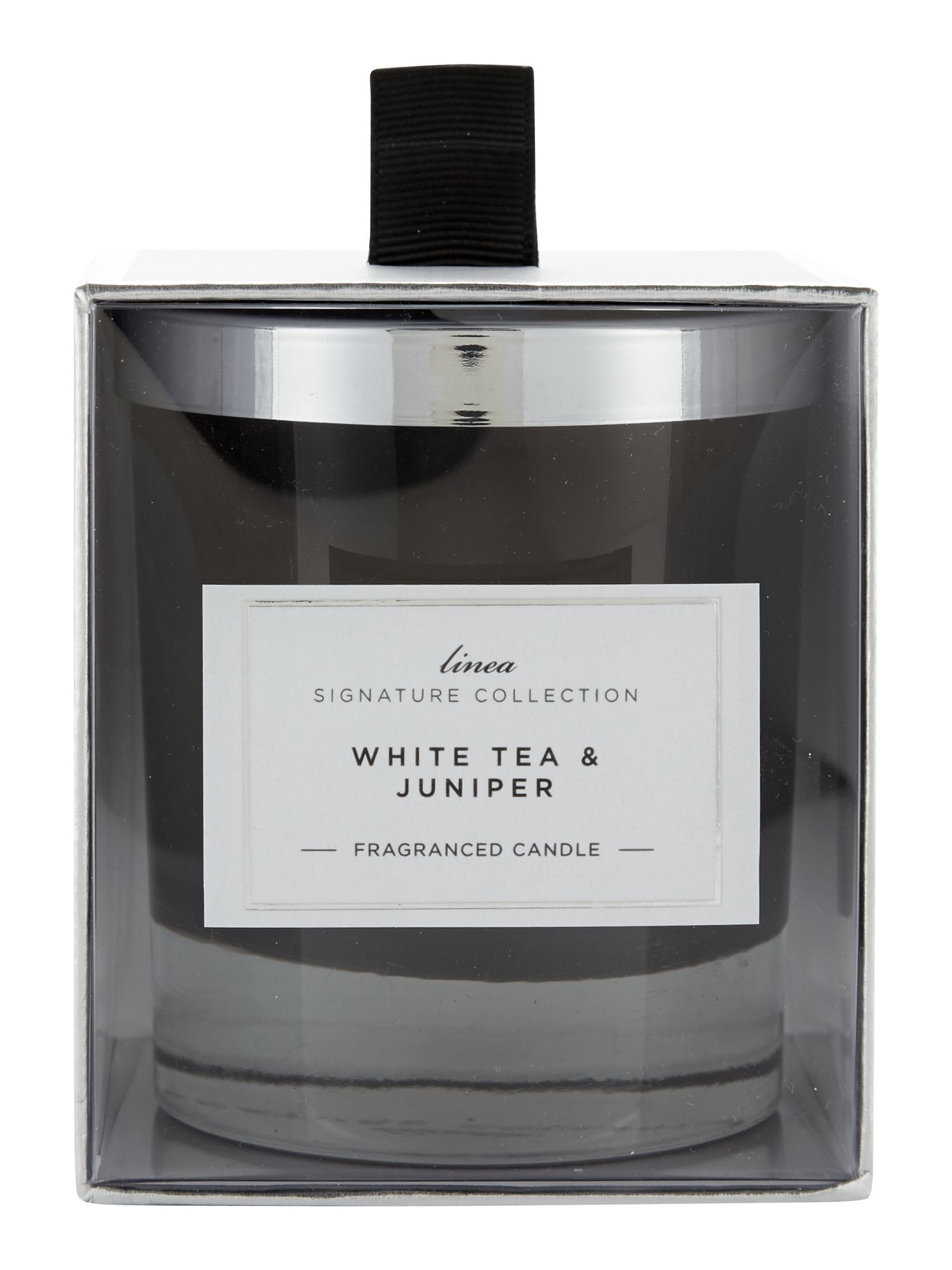 White tea & juniper single candle