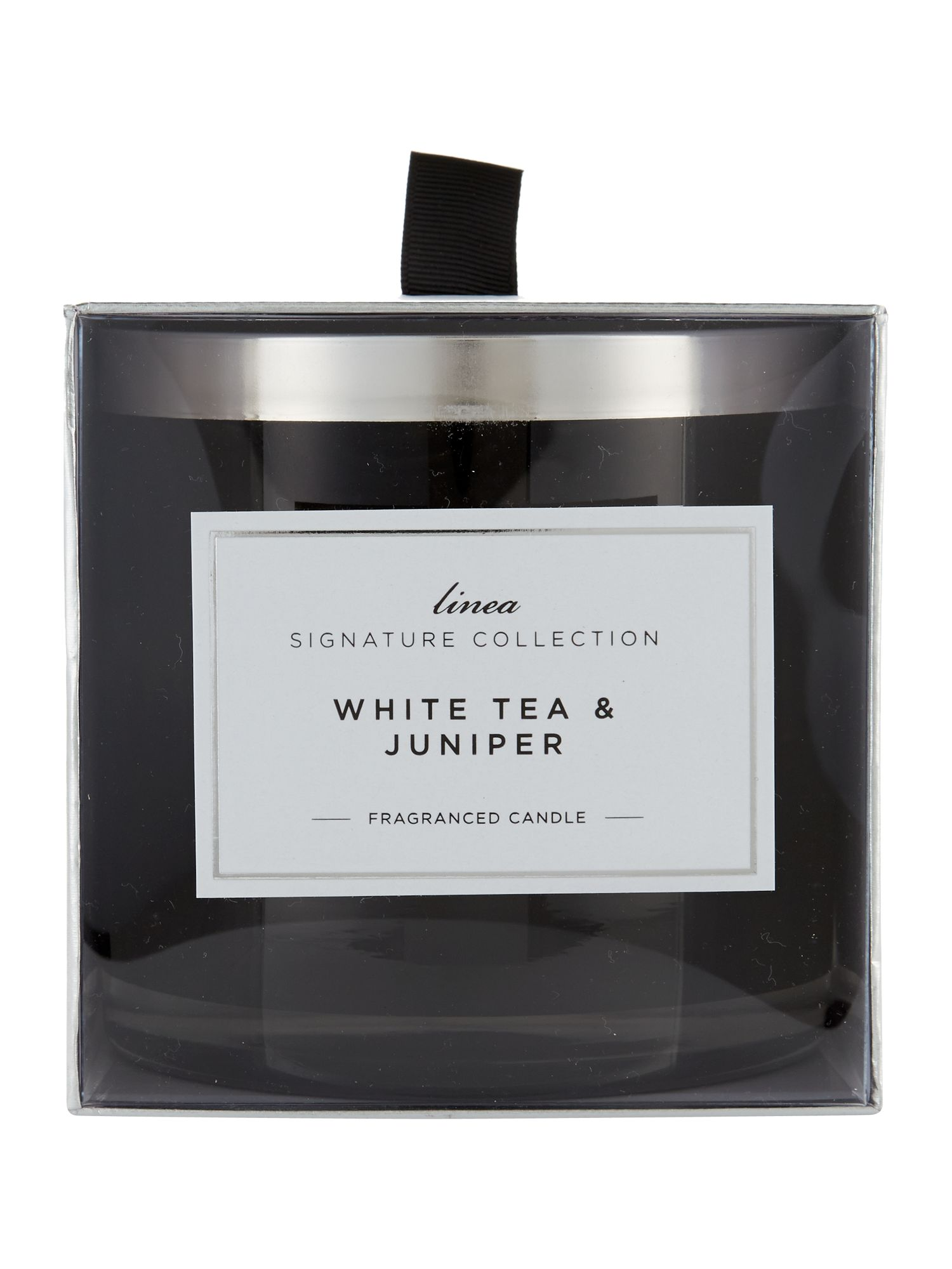 White tea & juniper large candle