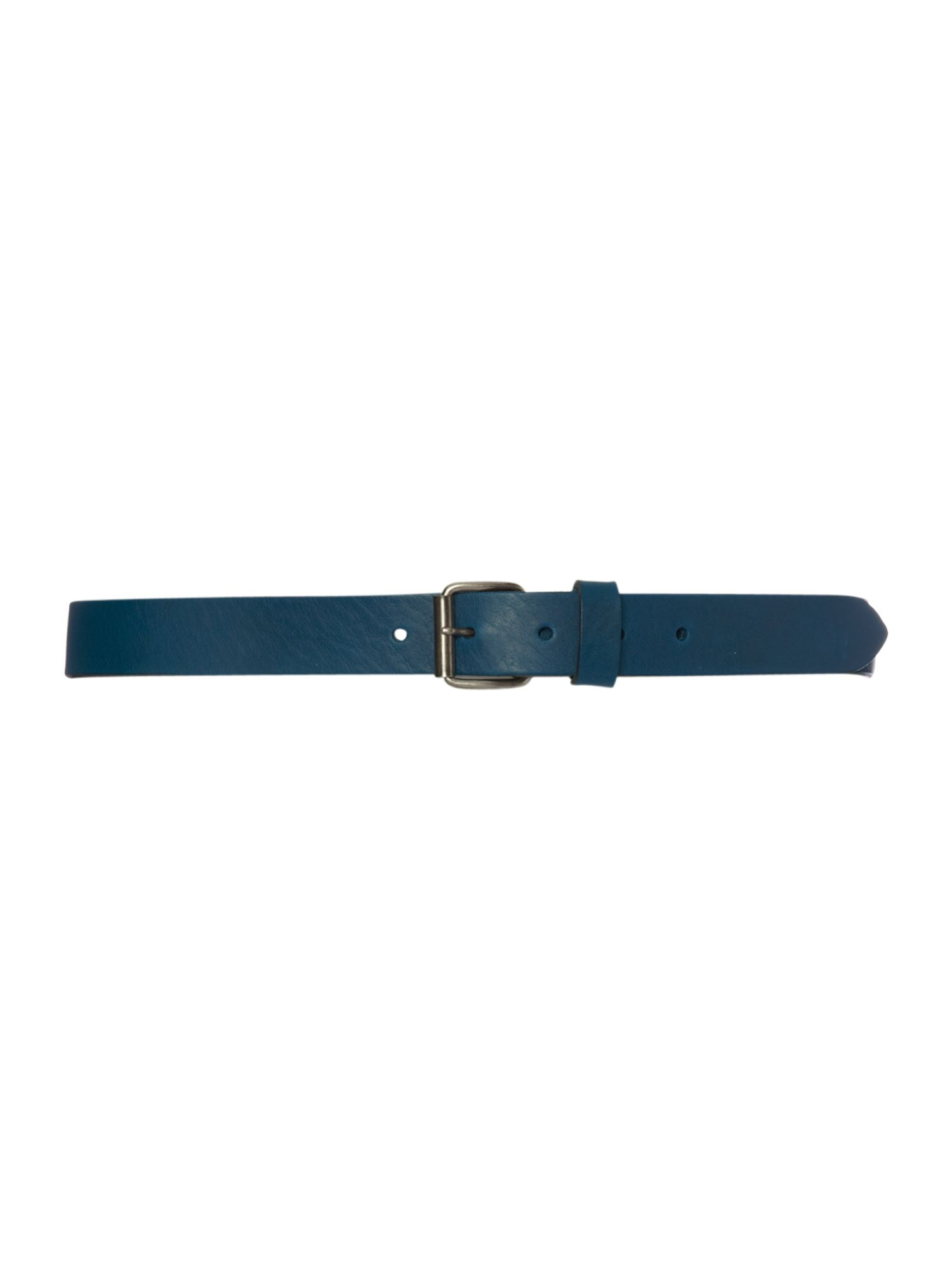 Soft leather teal belt