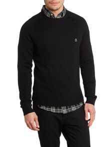 Crew neck esquire jumper