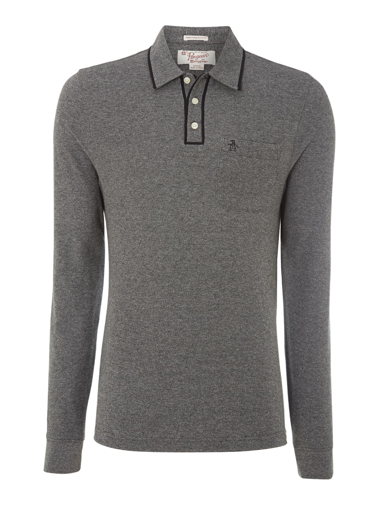 Long sleeve earl polo shirt
