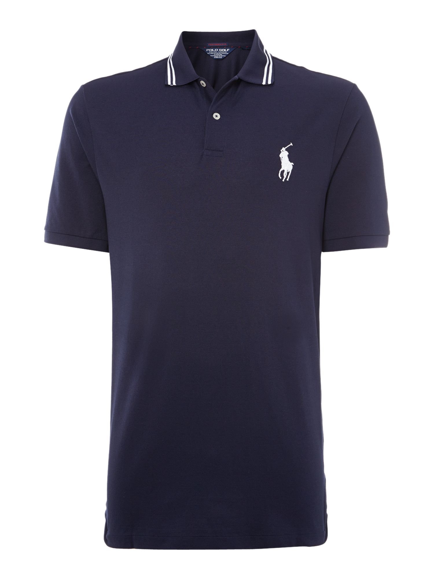 Tipped collar pro fit polo shirt