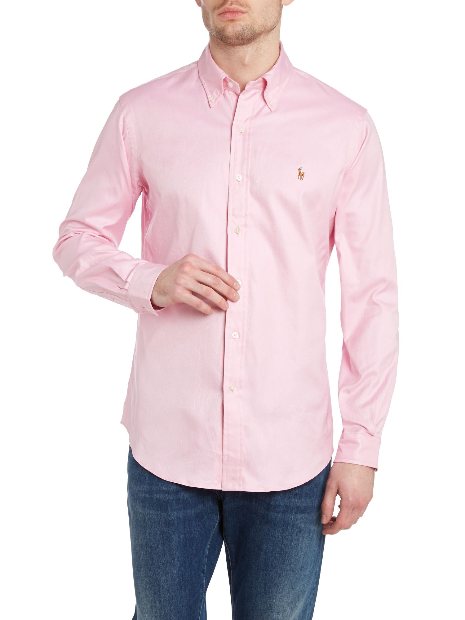 Classic custom fit long sleeve shirt