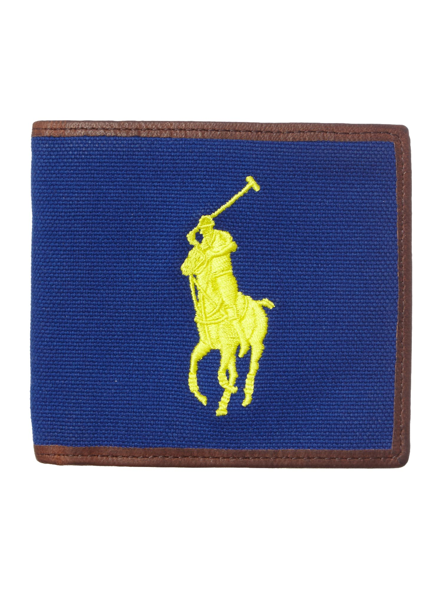 Big polo pony wallet