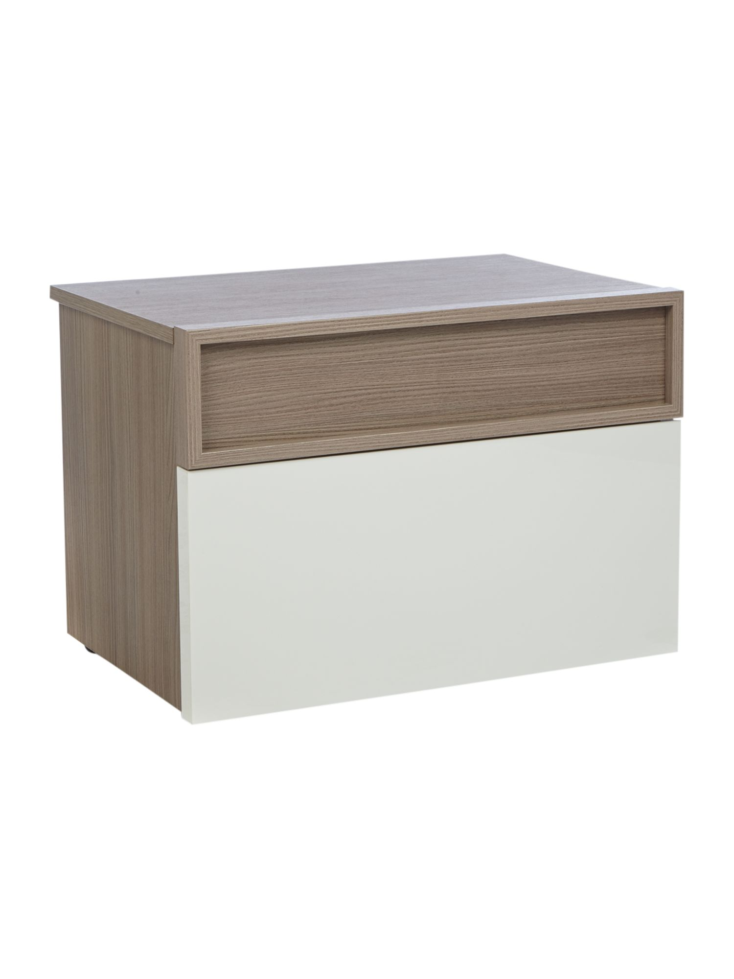 Empire 2 drawer bedside chest