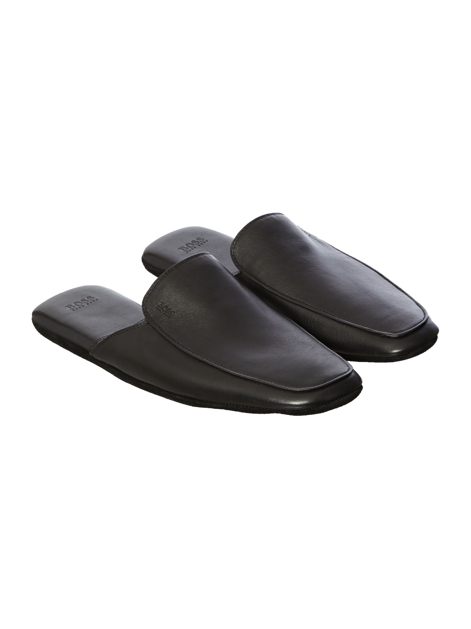 Homio leather mule slipper