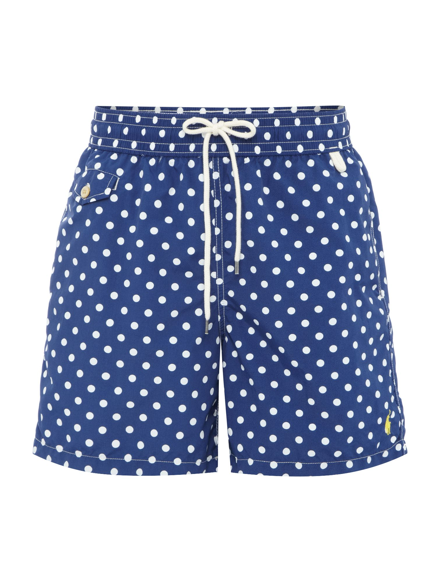Polka dot swim short