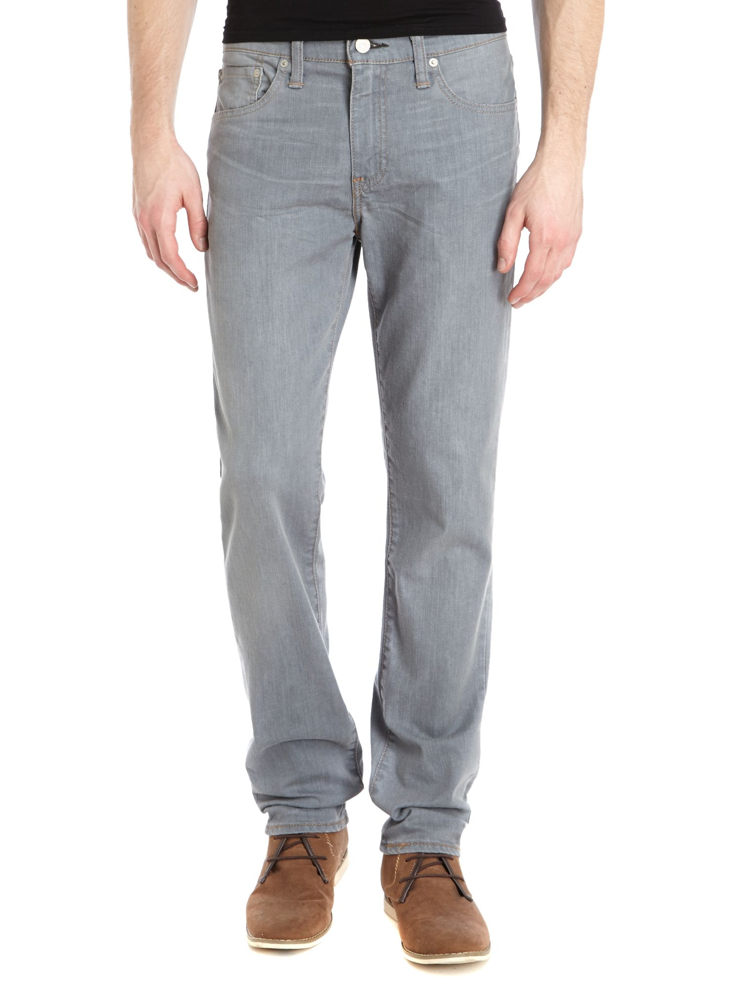 511 straight modern grey wash jean