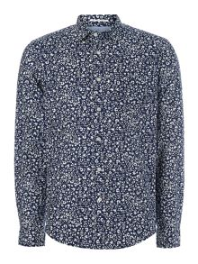 palmero garden print long sleeve shirt