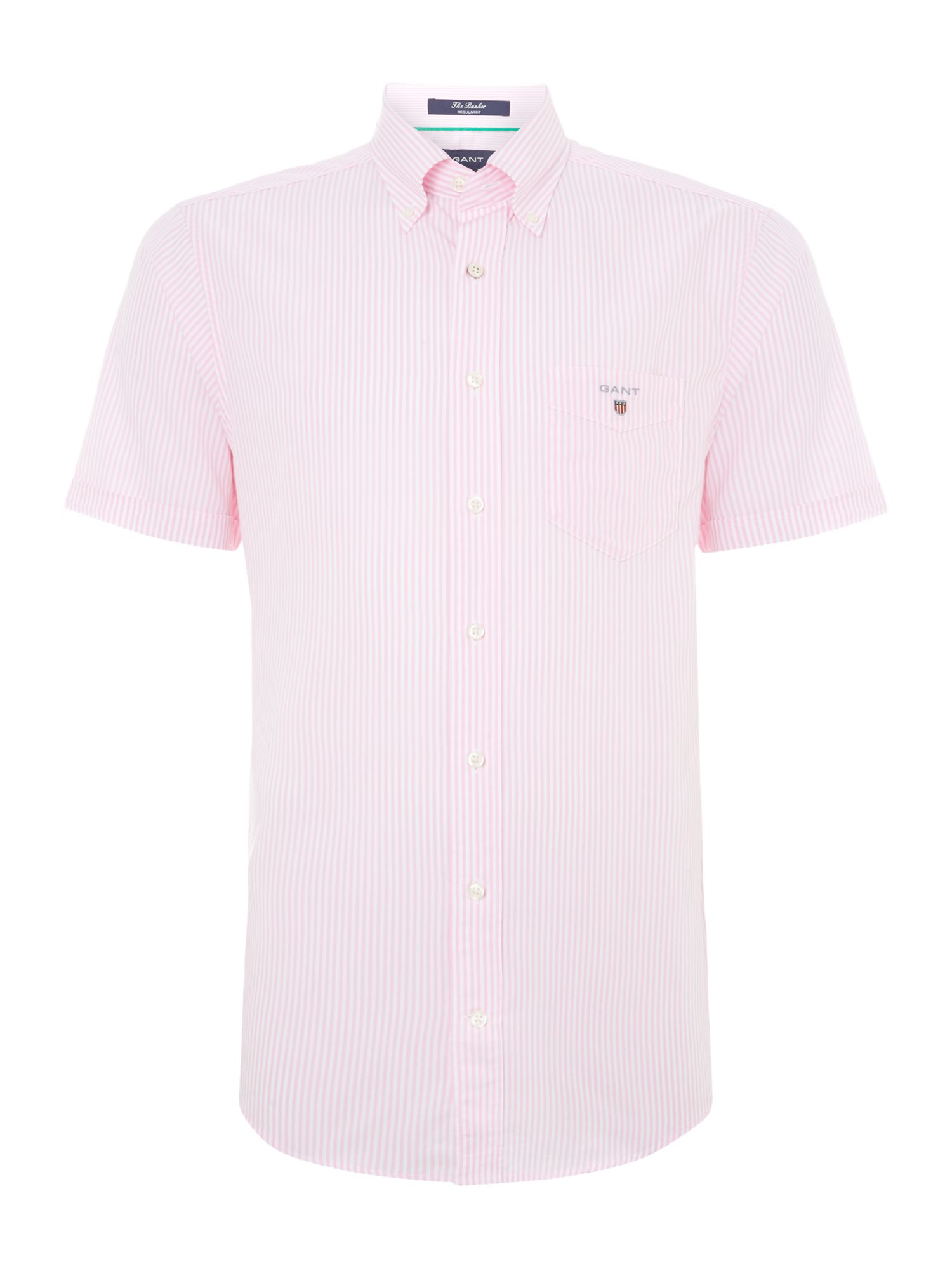 Short sleeve banker shirt