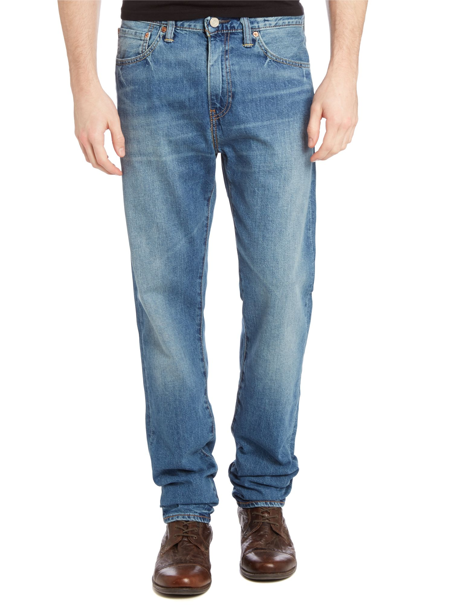 508 marin taper fit light wash jean