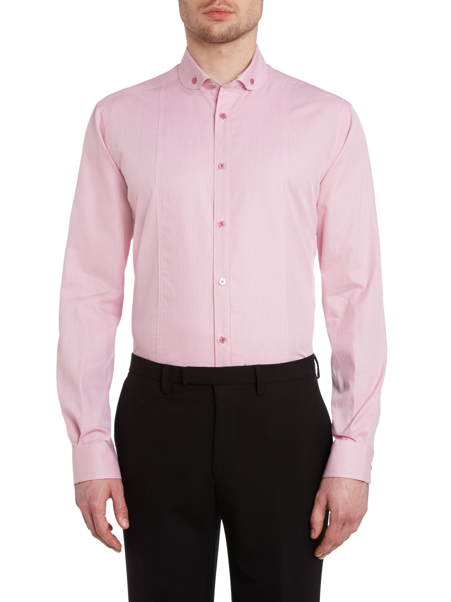 Andovar regular fit diamond geometric shirt