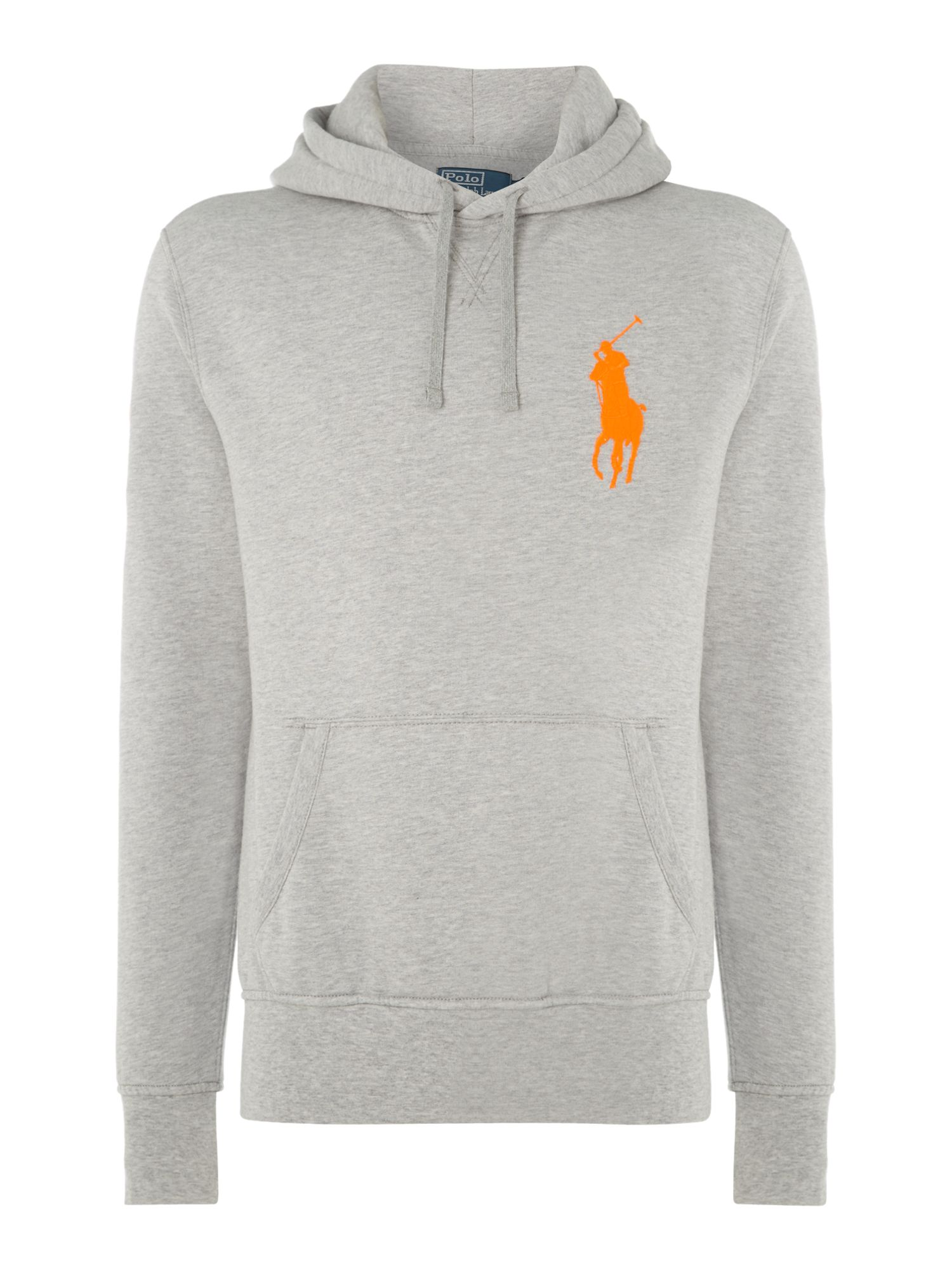 Big pony player fleece hooded sweatshirt