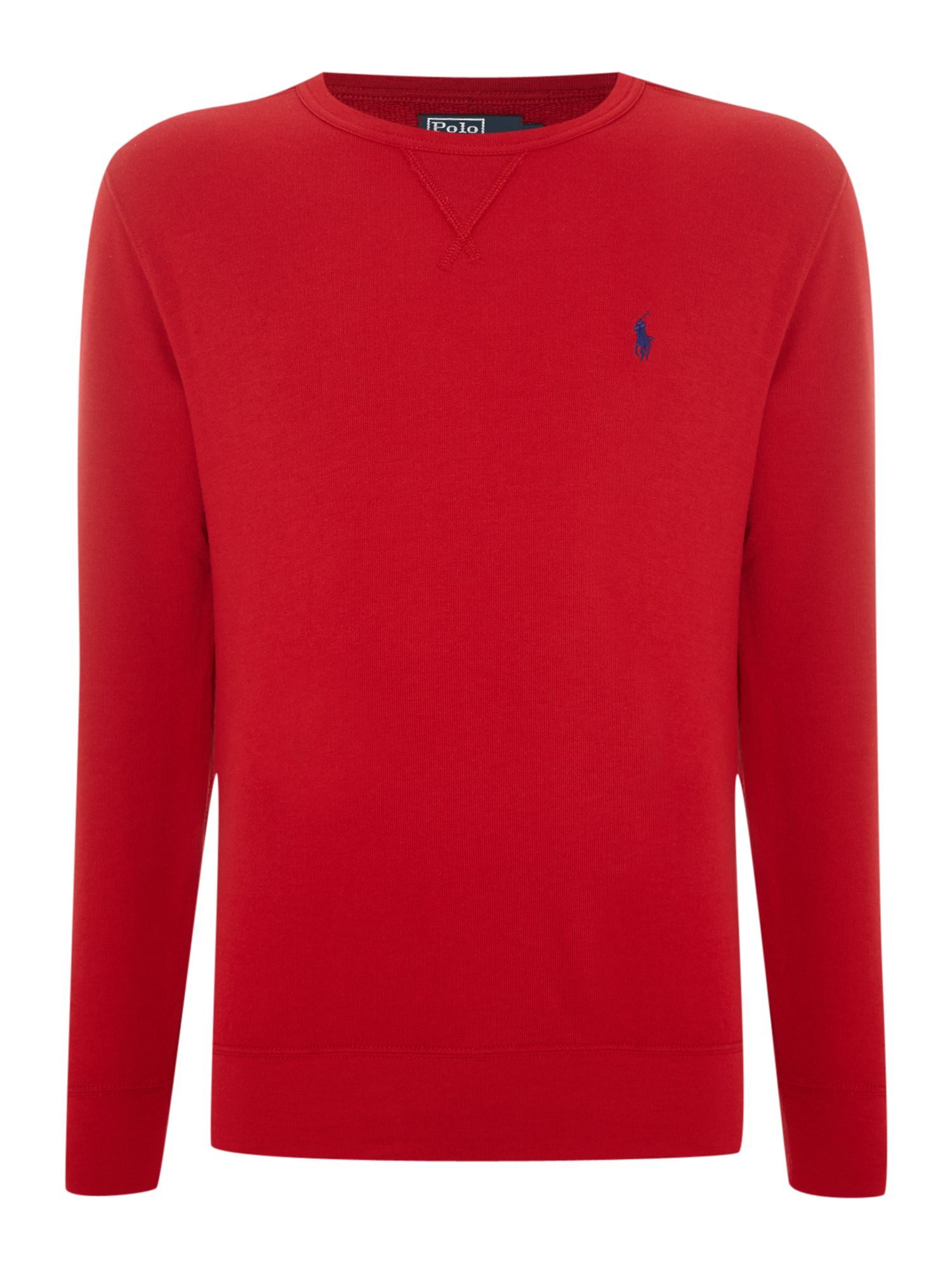 Classic atlantic terry crew neck sweatshirt